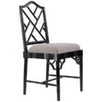 Black Chippendale Chair  - фото 1