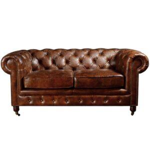 Диван Chesterfield Rebel Sofa Leather Brown 170