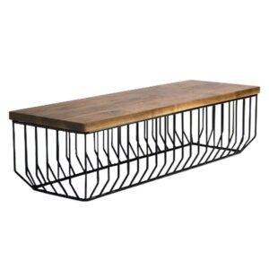 Банкетка-столик Reza Feiz Wired Bench  designed by Reza Feiz