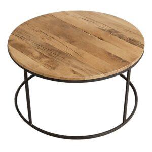 Стол Loft Wooden Round