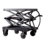 Industrial Scissor Lift Table Iron Restoration Hardware   - фото 1