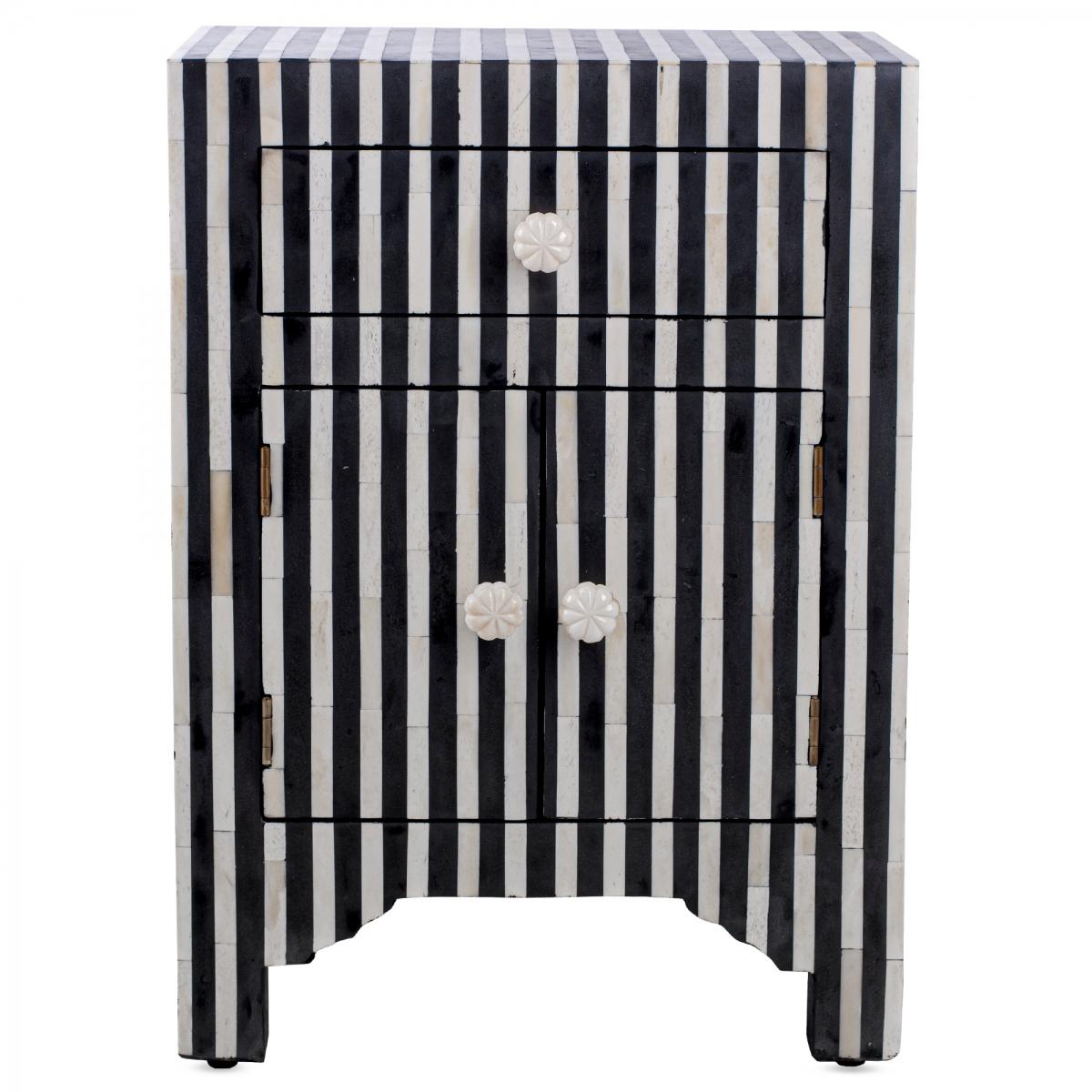 Тумба Inlaid Bone Stripes  - фото 1