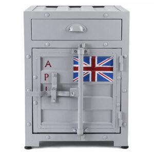 Тумба Union Jack с ящиком и дверью