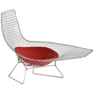 Кресло Asymmetric Chaise  designed by Harry Bertoia  in 1952