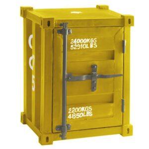 Тумбочка CARLINGUE Sea Container yellow