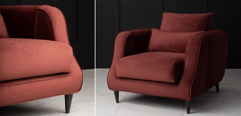 Кресло Portree Sofa цвет Паприка  - фото 5