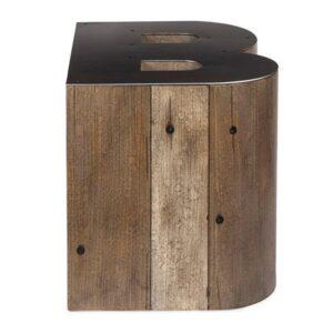 Столик Wooden Alphabet B Side Table  designed by Martin Waller