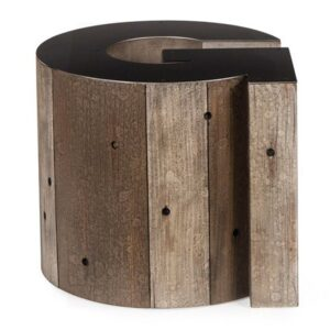 Столик Wooden Alphabet G Side Table  designed by Martin Waller