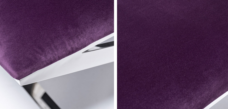 Банкетка Bench Velor Violet  - фото 3