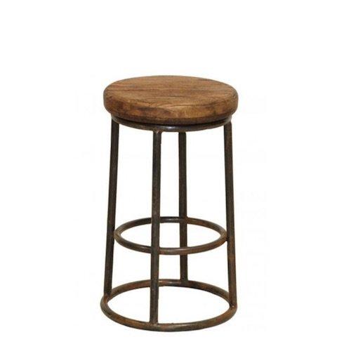 Барный стул Industrial Rust London Counter Stool   - фото 1