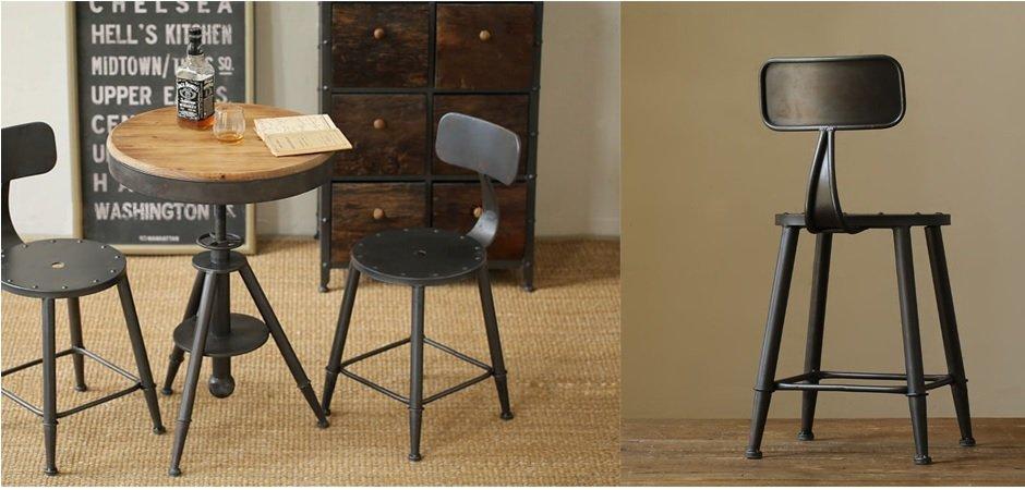 Барный стул Loft mini   - фото 2