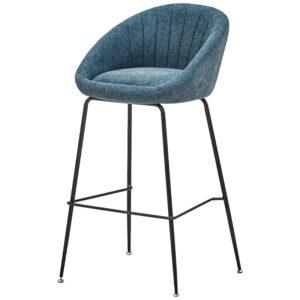 Барный стул Alberto Bar Stool Blue