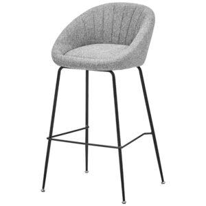 Барный стул Alberto Bar Stool Gray