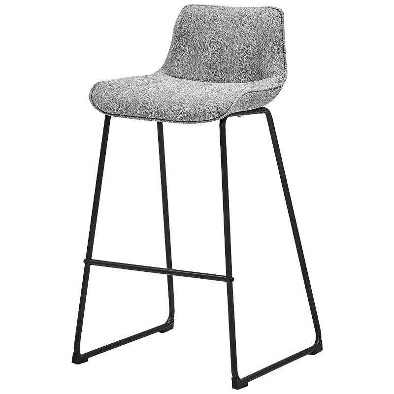 Барный стул Alonzo Bar Stool Gray  - фото 1