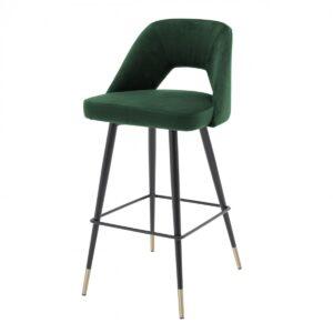 Барный стул Eichholtz Bar Stool Avorio Green