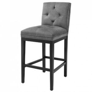 Барный стул Eichholtz Bar Stool Cesare Grey