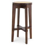 Барный стул Eichholtz Bar Stool Dareau brown  - фото 1