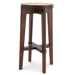Барный стул Eichholtz Bar Stool Dareau brown