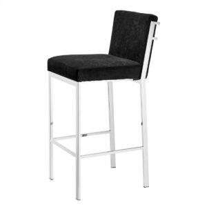 Барный стул Eichholtz Bar Stool Scott Steel