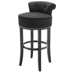 Барный стул Eichholtz Bar Stool Sophia Loren Black