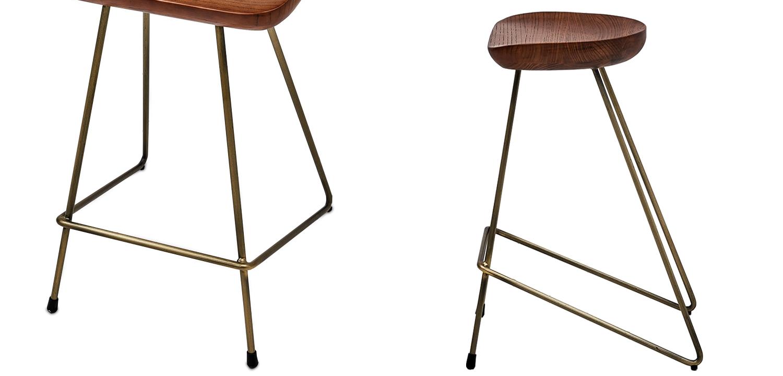 Барный стул Foester Wood Stool  - фото 2