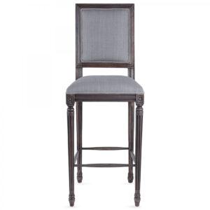 Барный стул JACOB bar stool Gray Linen
