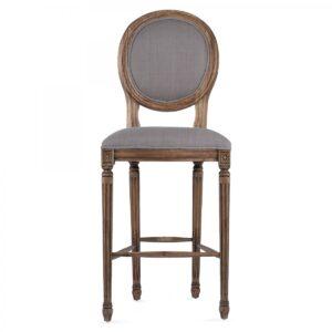 Барный стул REGENCY MEDALLION BARSTOOL Taupe Linen
