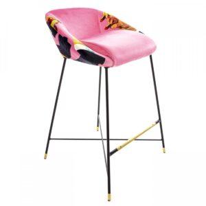 Барный стул Seletti High Stool Pink Lipsticks