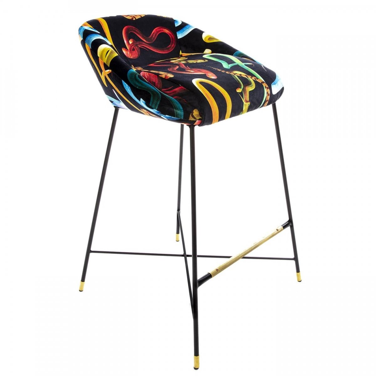 Барный стул Seletti High Stool Snakes  - фото 1