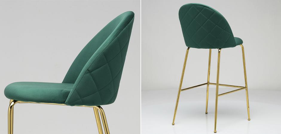 Барный стул Vendramin Bar Stool green  - фото 2
