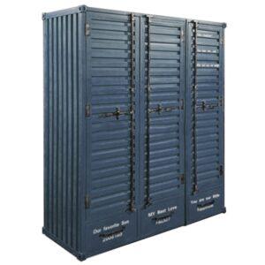 Большой Платяной Шкаф Sea Container 3 двери