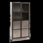Буфет Industrial Steampunk Nickel Cabinet   - фото 1