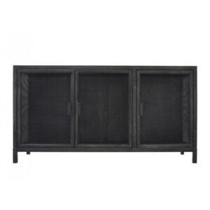 Буфет Industrial Loft Dark Metal 3 Door Beto Cabinet
