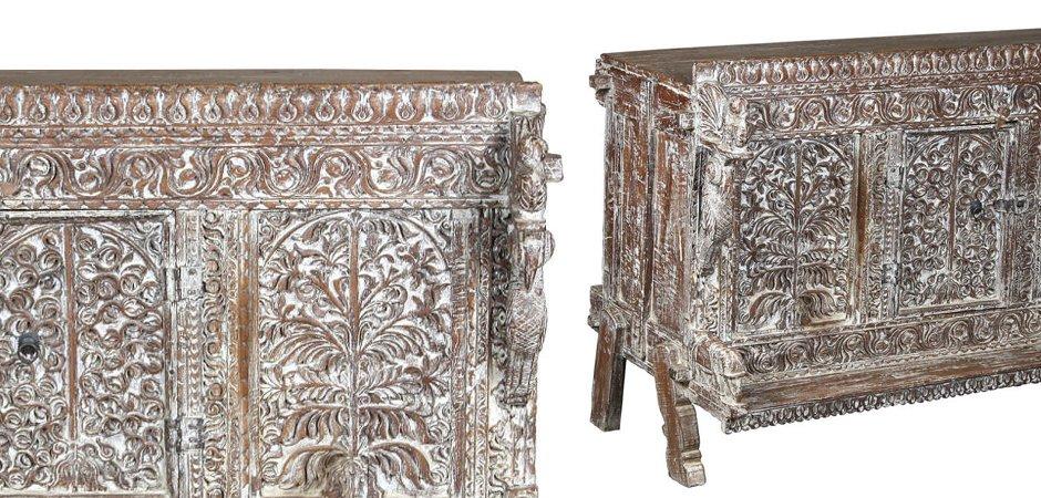 Буфет с резным орнаментом  - фото 2