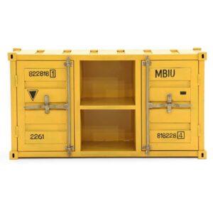 ТВ тумба Loft TV container yellow