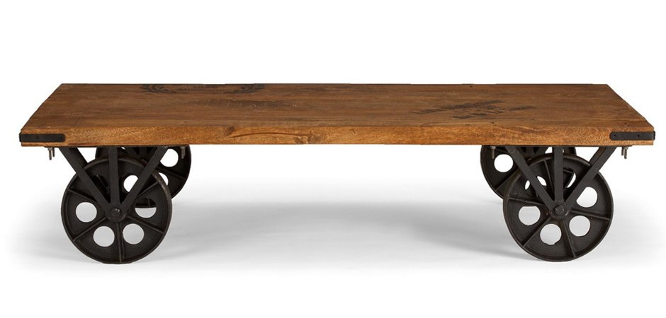 Кофейный стол на колесах Rollcouch Coffee Table   - фото 2