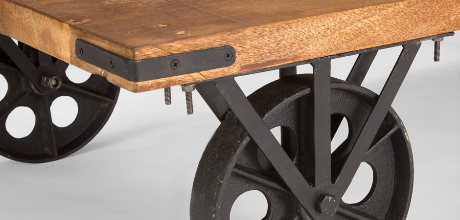Кофейный стол на колесах Rollcouch Coffee Table   - фото 4
