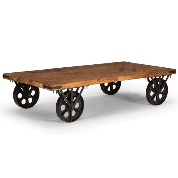 Кофейный стол на колесах Rollcouch Coffee Table   - фото 1