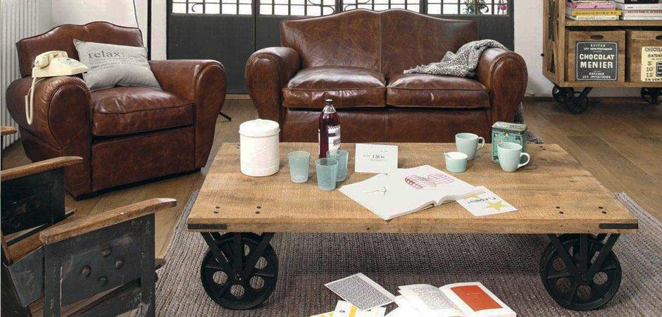 Кофейный стол на колесах Rollcouch Coffee Table   - фото 3