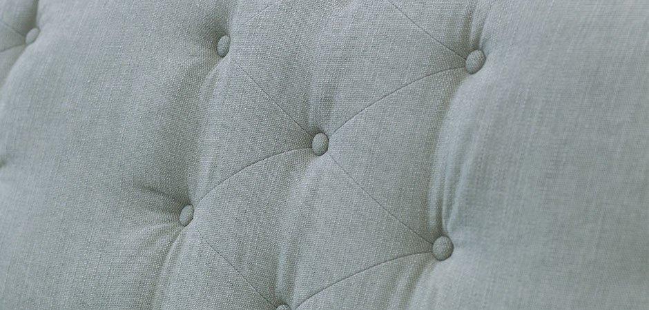 Диван бирюзовый трехместный Button   - фото 2