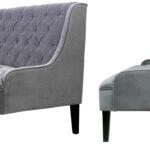 Диван Folket Sofa velour gray  - фото 2