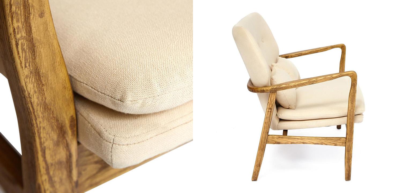 Диван Makeshift sofa beige  - фото 2