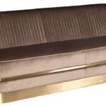 Диван трехместный велюр Bolger sofa three-seater velvet  - фото 2