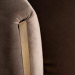 Диван трехместный велюр Bolger sofa three-seater velvet  - фото 5