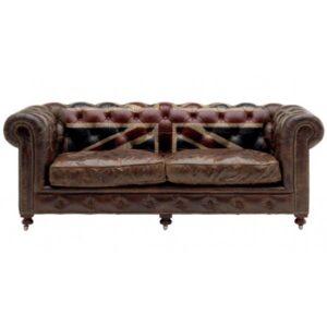 Диван Chesterfield Rebel Sofa Union Jack Andrew Martin  designed by Martin Waller