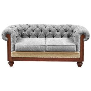 Диван Deconstructed Chesterfield Sofa double Gray