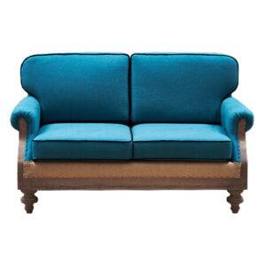 Диван Deconstructed Sofa turquoise Linen double