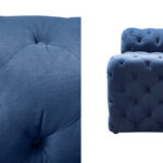 Диван Soho tufted blue velor  - фото 2