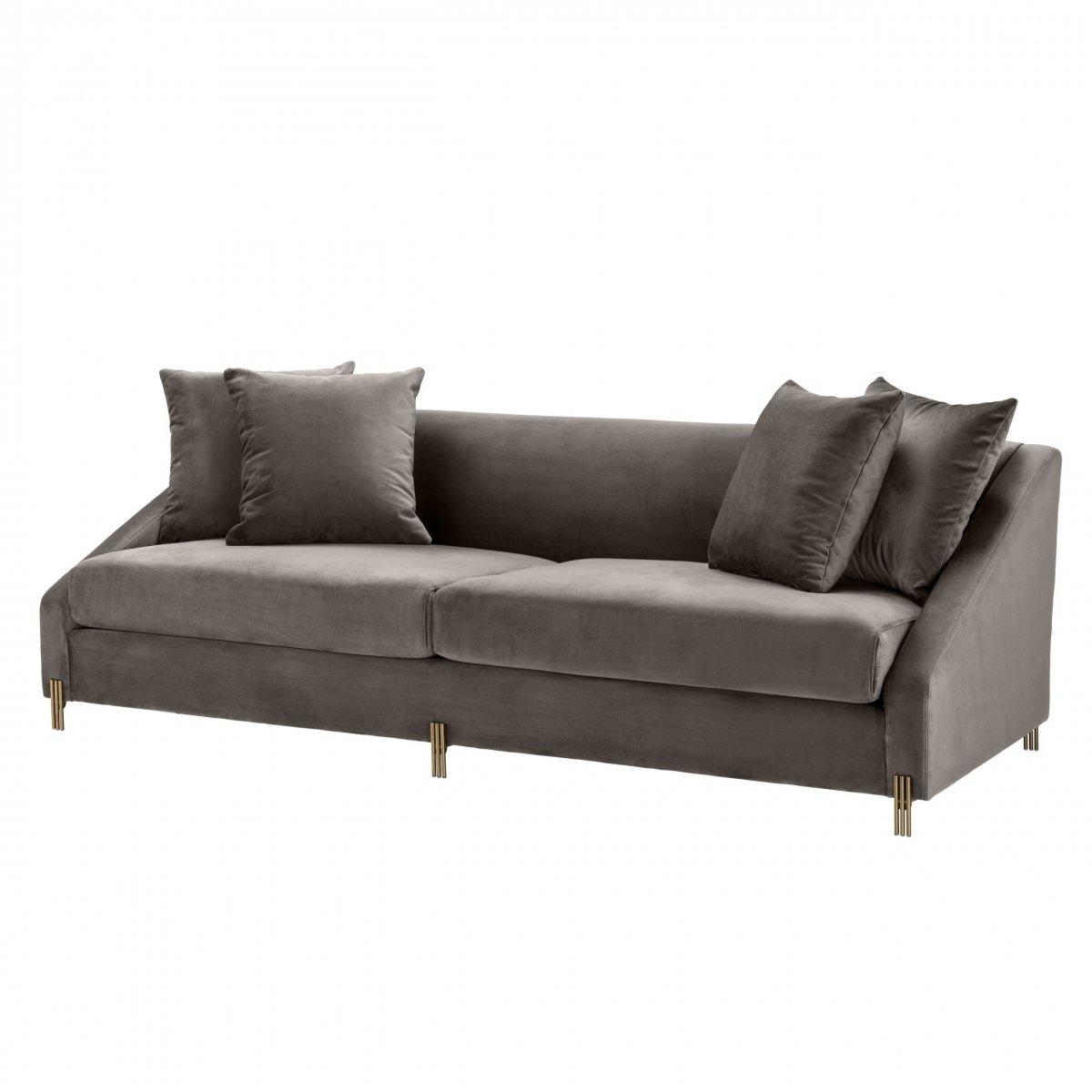 Диван Eichholtz Sofa Candice grey  - фото 1