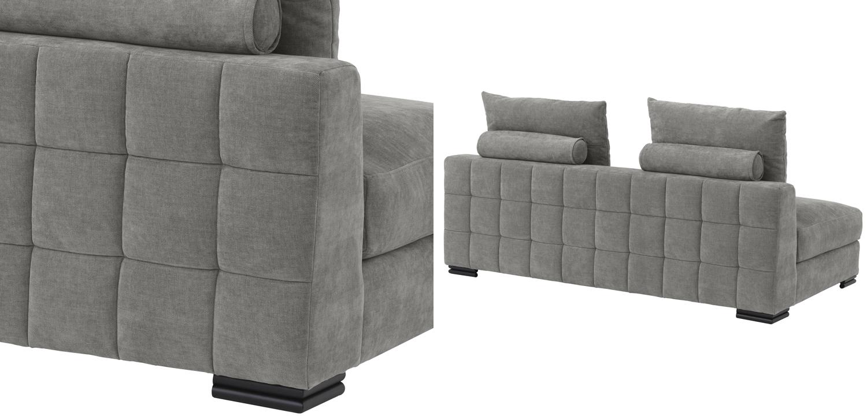 Диван Eichholtz Sofa Clifford 2-Seater grey  - фото 2